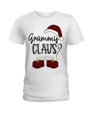 Grammy Claus christmas 2020 Ladies T-Shirt tile
