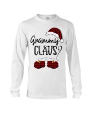 Grammy Claus christmas 2020 Long Sleeve Tee tile