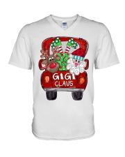 Gigi Claus - Christmas  V-Neck T-Shirt tile