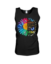 My greatest blessings call me mimi Unisex Tank tile