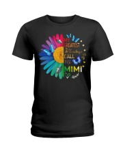 My greatest blessings call me mimi Ladies T-Shirt tile