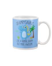 Grampy saurus mug Mug tile