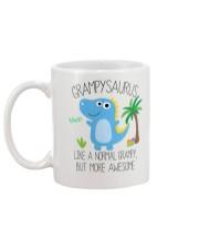 Grampy saurus mug Mug back