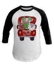 Mimi Claus - Christmas  Baseball Tee tile