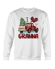 I love being a Granna truck red xmas Crewneck Sweatshirt tile