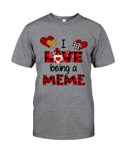 I Love Being A meme Gnomie gift Classic T-Shirt front