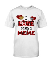 I Love Being A meme Gnomie gift Classic T-Shirt tile