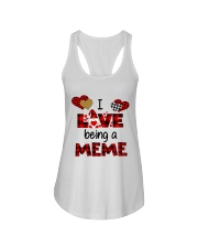 I Love Being A meme Gnomie gift Ladies Flowy Tank tile