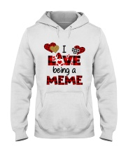 I Love Being A meme Gnomie gift Hooded Sweatshirt tile