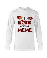 I Love Being A meme Gnomie gift Long Sleeve Tee tile