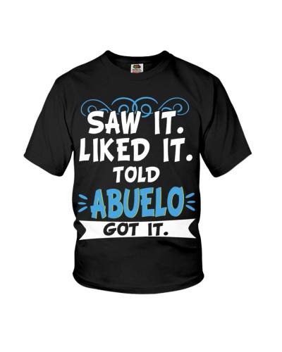 Saw it love it told Abuelo got it new v1
