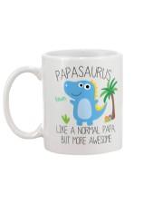 Papa saurus mug Mug back