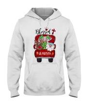 Blessed Grandmama rv5 Hooded Sweatshirt tile
