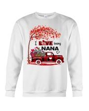 I love being nana gift Crewneck Sweatshirt tile