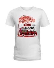 I love being nana gift Ladies T-Shirt tile