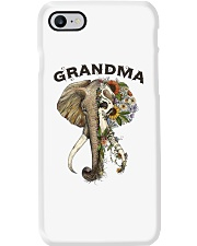 Grandma elephants Phone Case tile