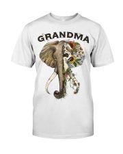 Grandma elephants Classic T-Shirt front