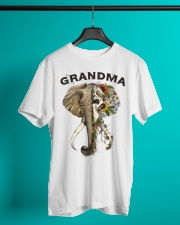 Grandma elephants Classic T-Shirt lifestyle-mens-crewneck-front-3