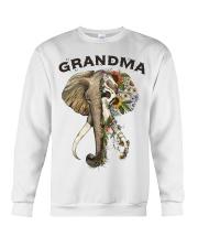 Grandma elephants Crewneck Sweatshirt tile