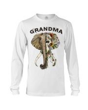Grandma elephants Long Sleeve Tee tile