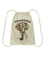 Grandma elephants Drawstring Bag tile