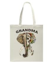 Grandma elephants Tote Bag tile