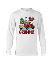 I love being a Grammie truck red xmas Long Sleeve Tee tile