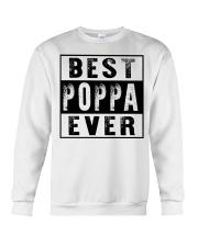 Best poppa ever new Crewneck Sweatshirt tile