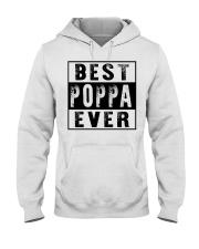 Best poppa ever new Hooded Sweatshirt tile