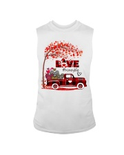 Love honey life truck red Sleeveless Tee tile