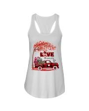 Love honey life truck red Ladies Flowy Tank tile