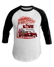Love honey life truck red Baseball Tee tile