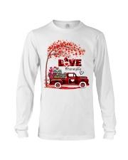 Love honey life truck red Long Sleeve Tee tile