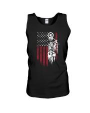Biker Flag USA Unisex Tank thumbnail