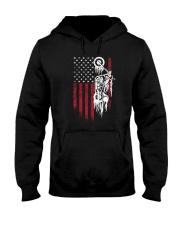 Biker Flag USA Hooded Sweatshirt thumbnail