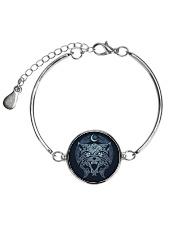 sdhb Metallic Circle Bracelet front