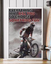 Motocross Choose ST Fun2 24x36 Poster lifestyle-poster-4
