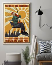 Skiing You Can Buy A Lift Pass PDN-dqh 11x17 Poster lifestyle-poster-1
