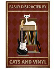 Music Cat Electric Guitar Distracted PDN-NTH 11x17 Poster front
