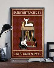 Music Cat Electric Guitar Distracted PDN-NTH 11x17 Poster lifestyle-poster-2