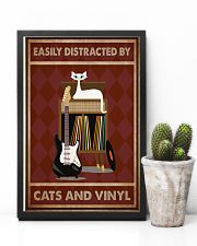 Music Cat Electric Guitar Distracted PDN-NTH 11x17 Poster lifestyle-poster-8