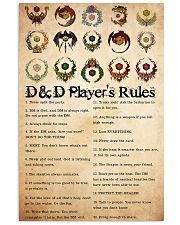 Game DD Rule PDN-dqh 24x36 Poster front