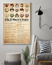 Game DD Rule PDN-dqh 24x36 Poster lifestyle-poster-1