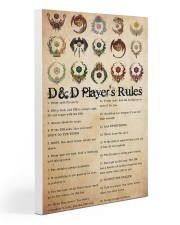 Game DD Rule PDN-dqh Gallery Wrapped Canvas Prints tile