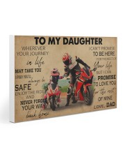 Motocycle To My Daughter PDN ngt  30x20 Gallery Wrapped Canvas Prints thumbnail