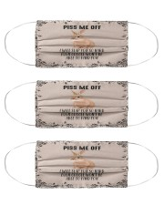 Bunny Pit Me Off Cloth Face Mask - 3 Pack front