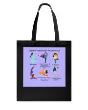 RBG yoga mas lqt-ntv  Tote Bag thumbnail