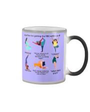 RBG yoga mas lqt-ntv  Color Changing Mug thumbnail