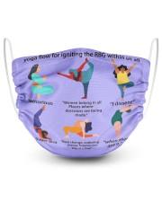 RBG yoga mas lqt-ntv  2 Layer Face Mask - Single thumbnail