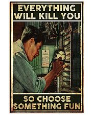 Electrician Choose Something Fun 24x36 Poster front